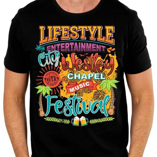 music fest shirt