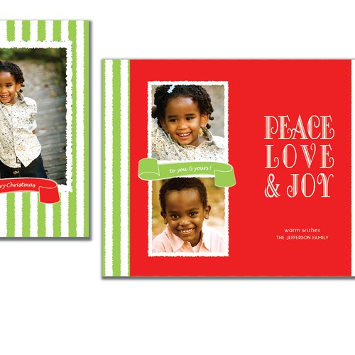 "Picaboo 5"" x 7"" Folded Holiday/Christmas Cards (will award up to 25 designs!)"