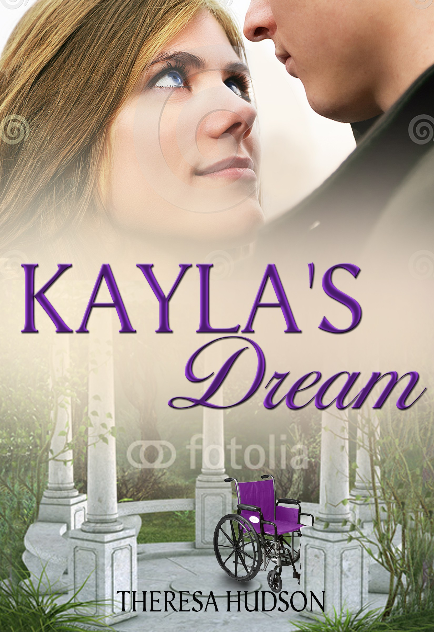 Kayla's Dream Book Cover extraordinaire-make her rise beyond cerebral palsy.