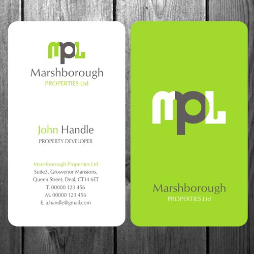 Help Marshborough Properties Ltd with a new stationery