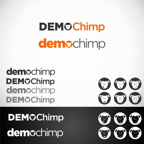 Create the next logo for DemoChimp