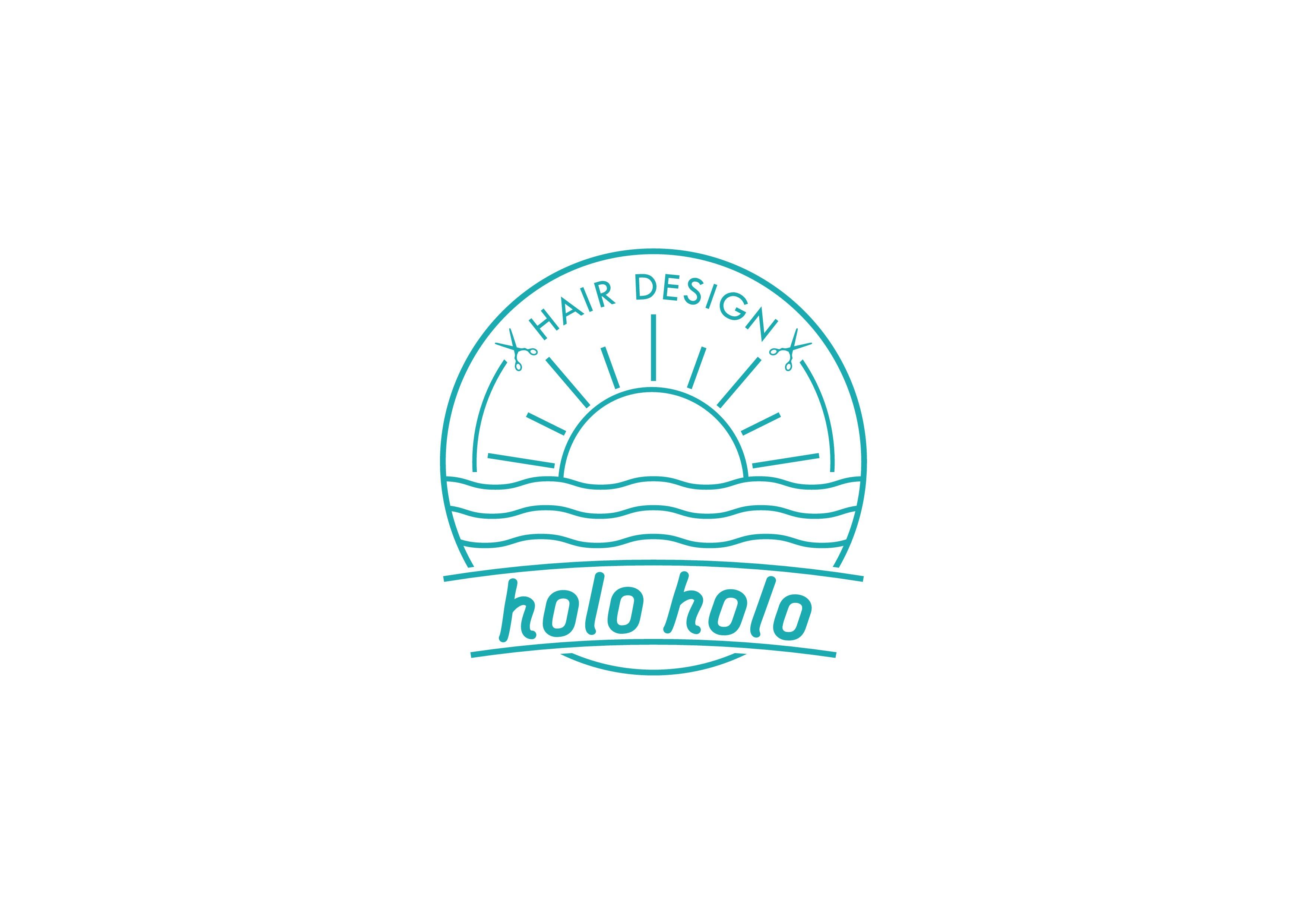 holo holo Hair Designのためにシンプルかつ印象に残るセンスのいいデザインをお願いします。