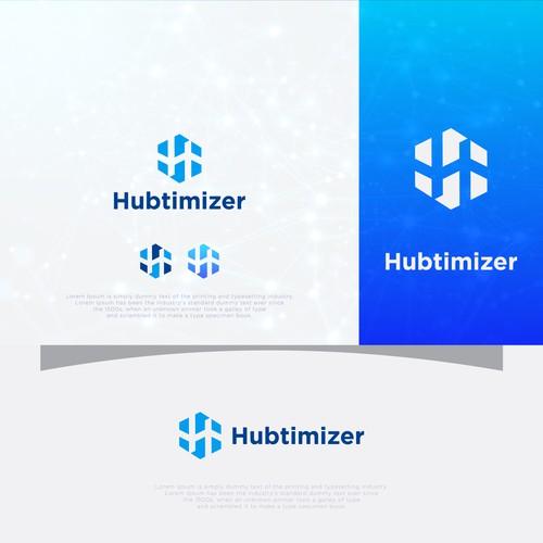 hubtimizer logo concept