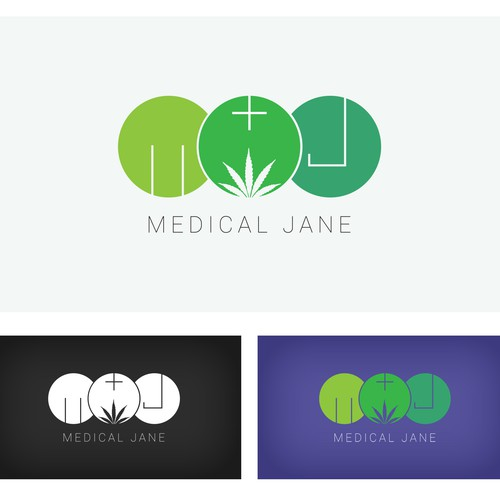 Make the logo for Medical Jane; a huge resource for medical marijuana patients.