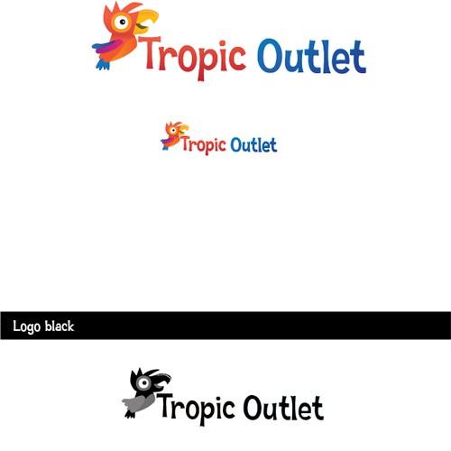 Parrot logo concept