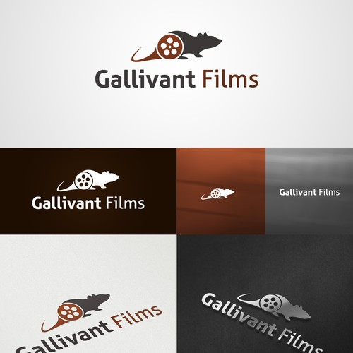 New logo and business card wanted for Gallivant Films