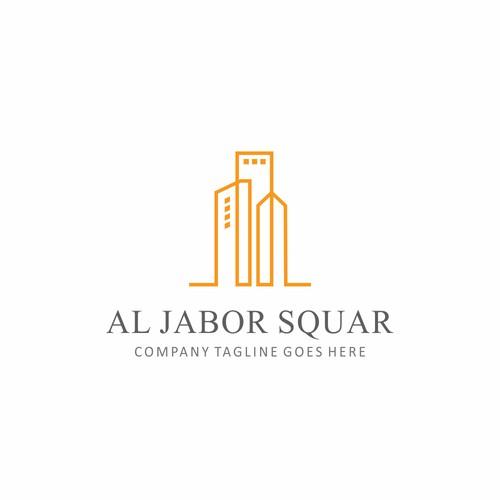 Al Jabor Squar Logo Design