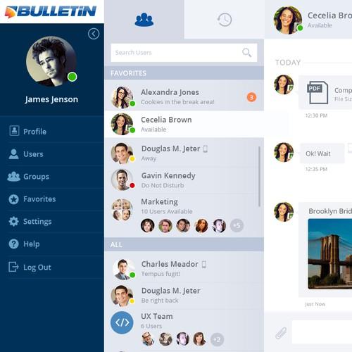 Chat Web Interface