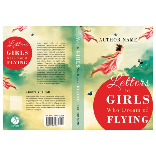 """Book cover for """"Letters to Girls Who Dream of Flying"""""""