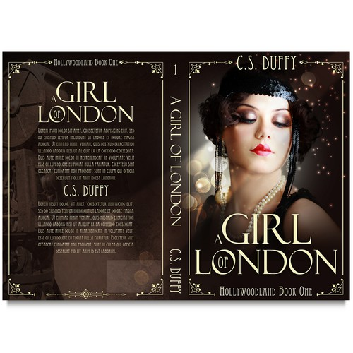 Book cover A Girl of London