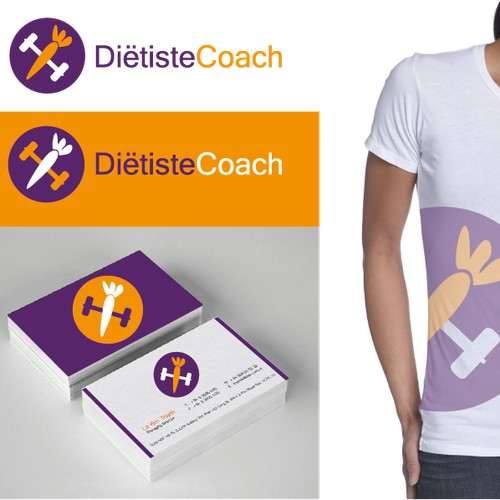Logo concept for a dietcoach