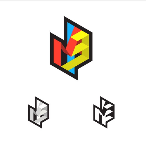 The concept of  the immersive logo