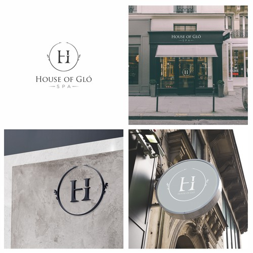 Logo concept for House of Glo Spa