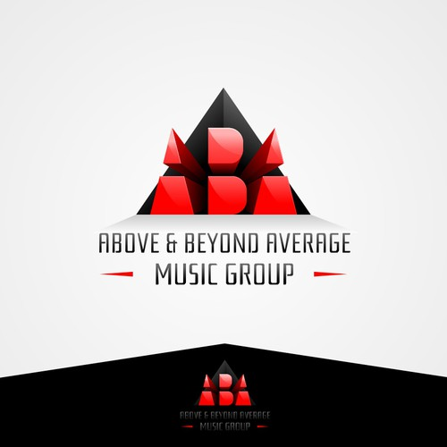 New logo wanted for ABOVE & BEYOND AVERAGE MUSIC GROUP (A.B.A MUSIC GROUP)
