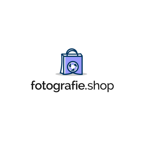 Logo for online Photography Shop in Belgium, Netherlands and Germany.
