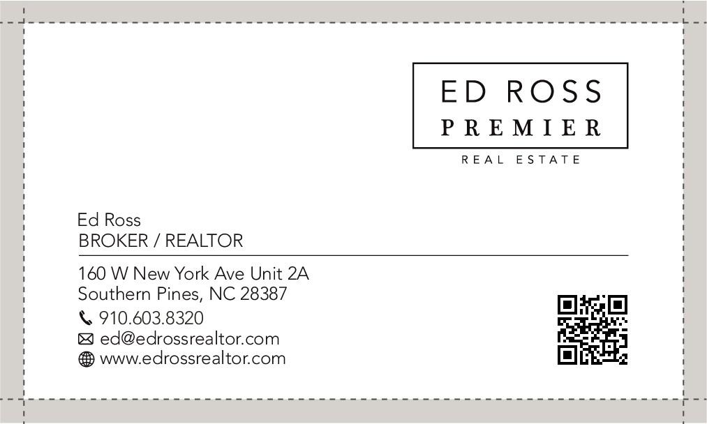 Business cards, Premier Real Estate