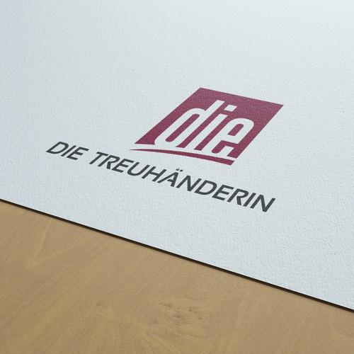 DIE Treuhanderin Logo Design
