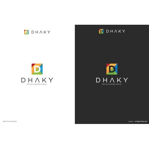 Letter ''D'' logo design