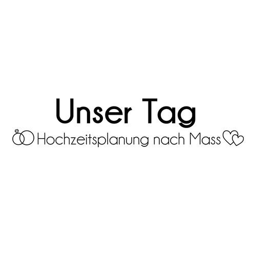 Schlichtes Logo für Hochzeitsplanerin