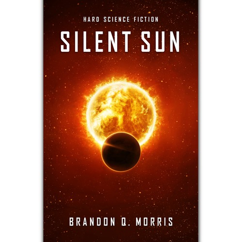 'Silent Sun' Book Cover Design