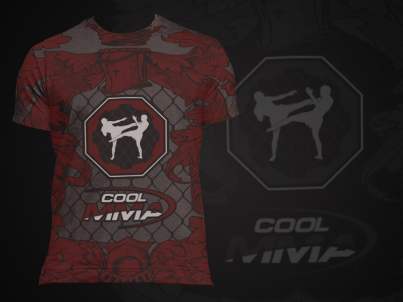 "99Designs great T-Shirt designers, please help COOL MMA establish our line of ""cool"" MMA clothes with a ""cool"" design."
