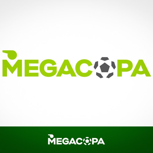 Megacopa Logo for a Soccer Games Management Software
