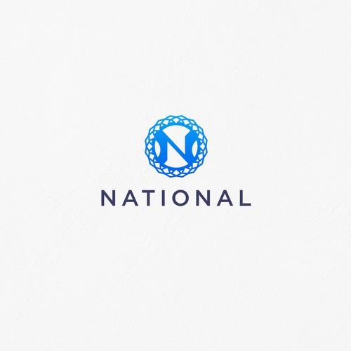 Initial N Logo Design for restaurants