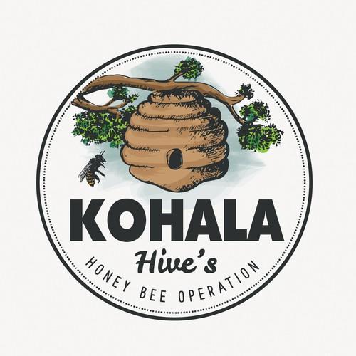 Logo for Kohala Hives