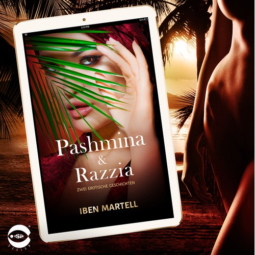 "eBook Cover for ""Pashmina & Razzia"" by Iben Martell"