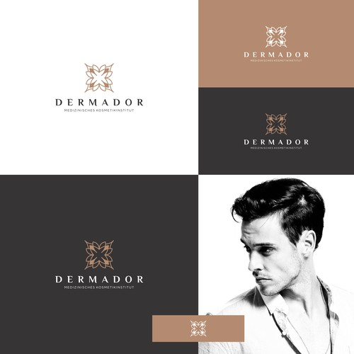 Logo for Masculine and Beauty Dermador
