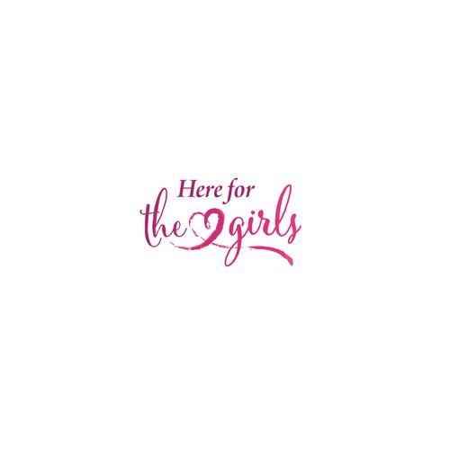 Girly logo for non-profit organization