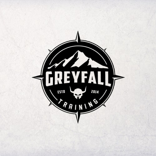Create a Survival and Tactics logo for GreyFall Training a viking themed company