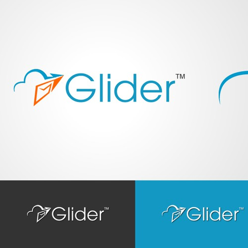 Logo design for glider
