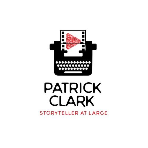 Logo for a film storyteller