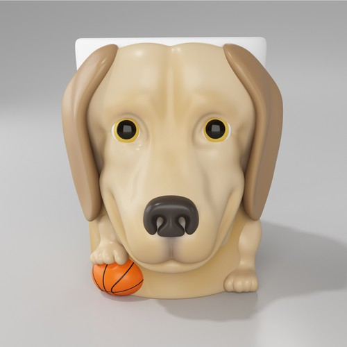 Labrador Retriever Mug Design