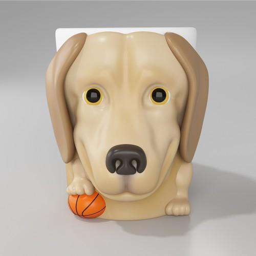 Labrador Retriever Mug Design