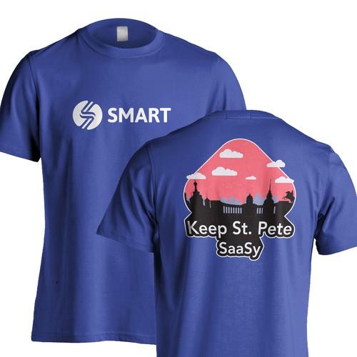 T-shirt Design for a tech company.