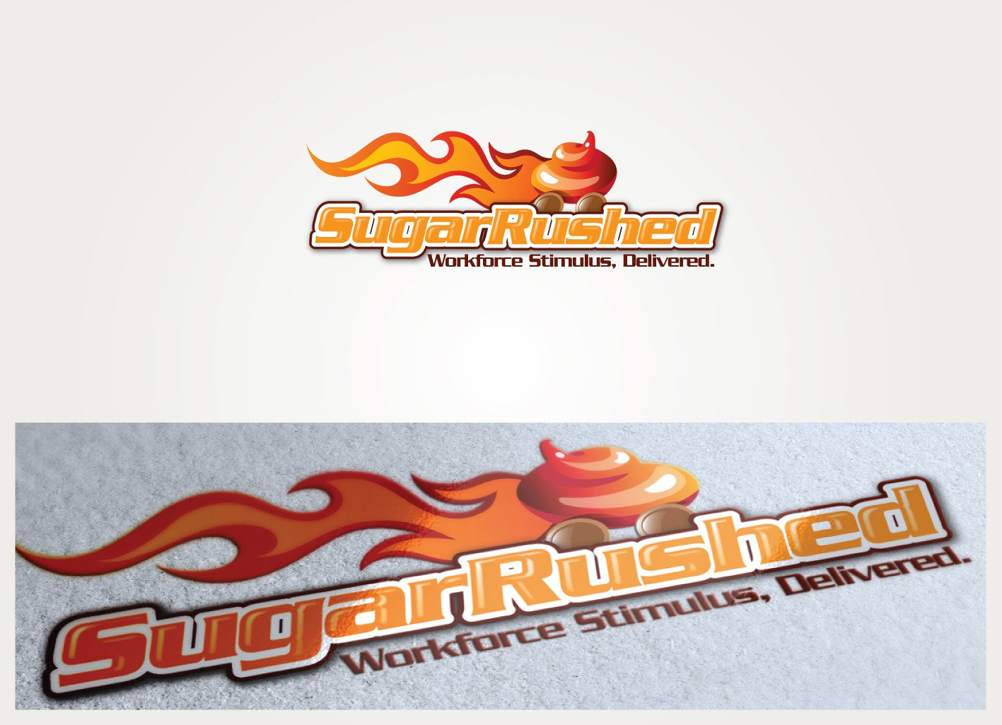 Help Sugar in a Rush with a new logo