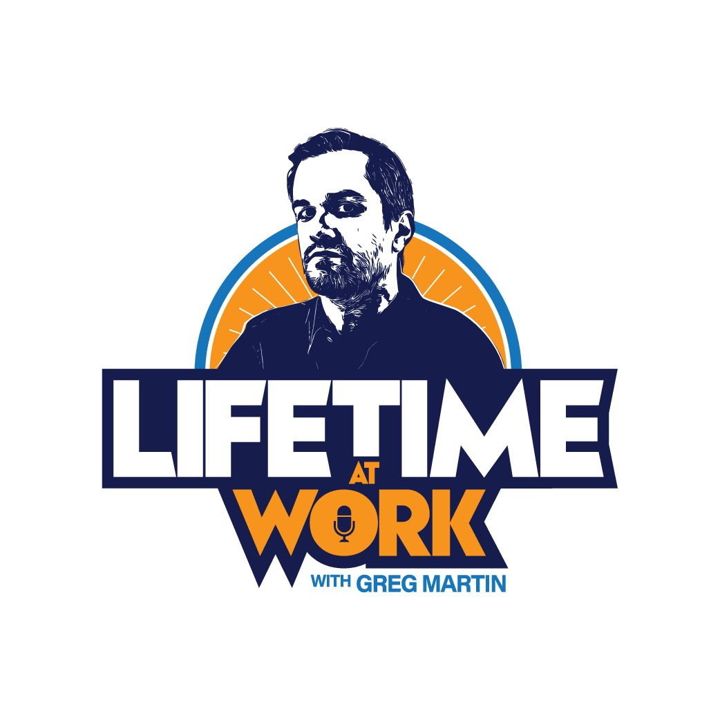 New podcast logo needed for a new podcast about work life