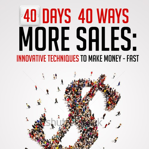 Stunning book cover for business book for professional salespeople