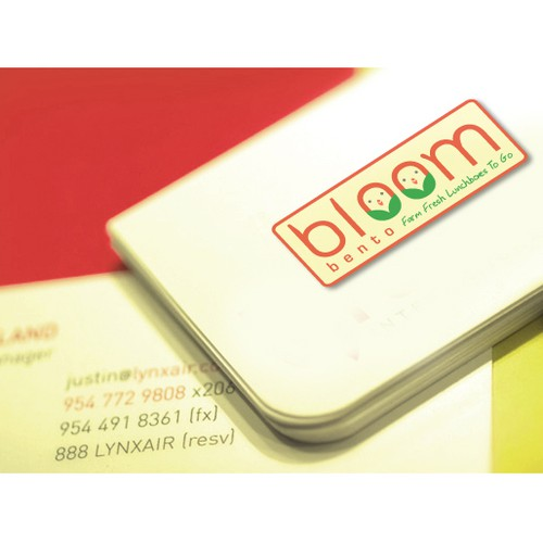Bloom Bento logo branding