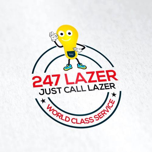 Mascot for 247 Lazer
