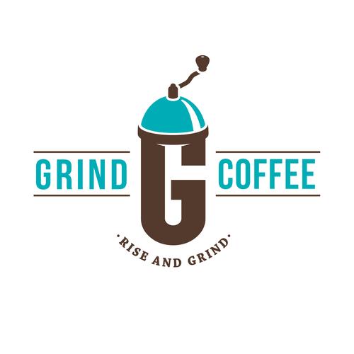 Logo for a café