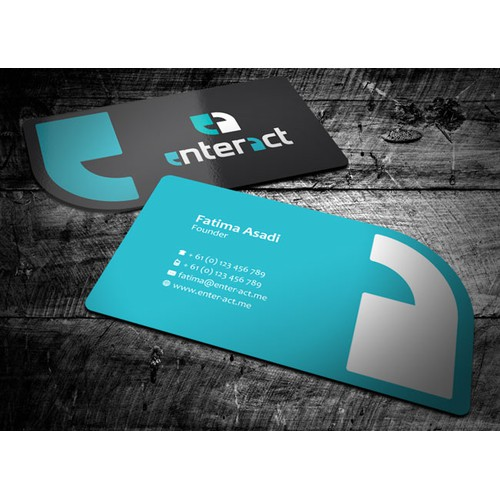 enter act would like to impress their clients with a set of creative stationery