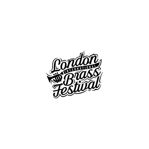 Logo concept for London International Brass Festival