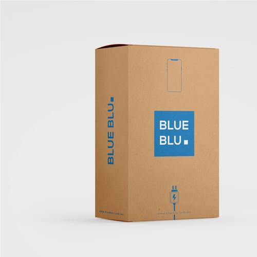 Blueblu- cell phones box design