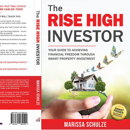 "Book Cover for ""The Rise High Investor"""