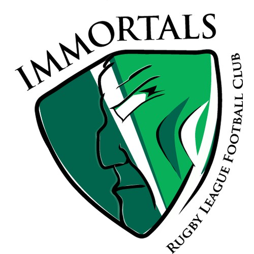Help Immortals RLFC (Rugby League Football Club)  with a new logo
