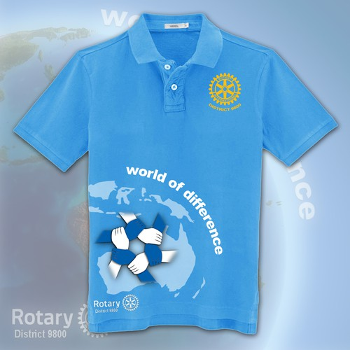 99nonprofits: create a t-shirt design for Rotary Club of Melbourne South!