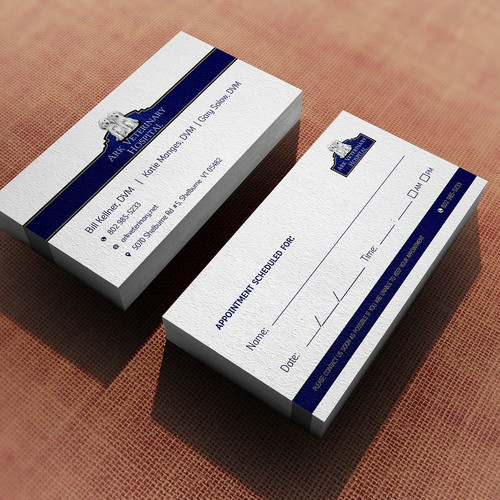 Business Card for Veterinary Hospital